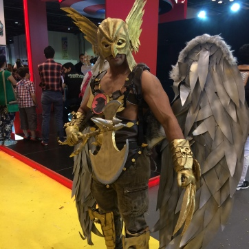 Cosplayer at the ComicCon.
