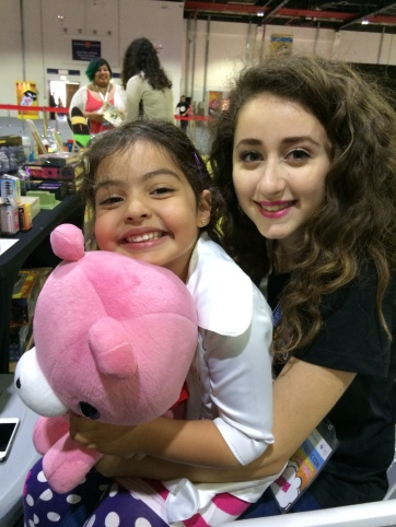 The lovely Nour with Doc McStuffins.