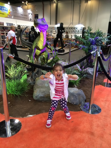 Scary dinosaurs and Doc McStuffins!