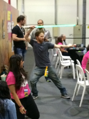 Seth Green is a secret Jedi!