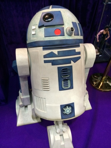 R2D2 on display.
