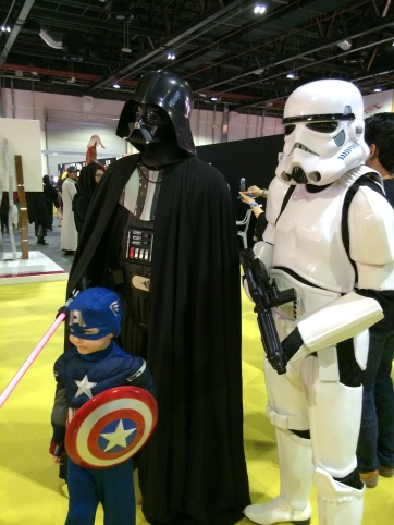 Captain America meets the Death Star Squad!