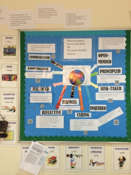 IB Learner Profile, explored through writing.